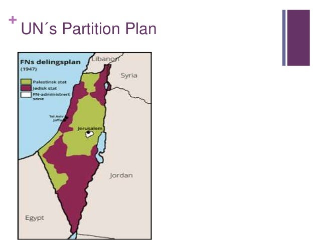 Israeli-palestinian conflict thesis statement