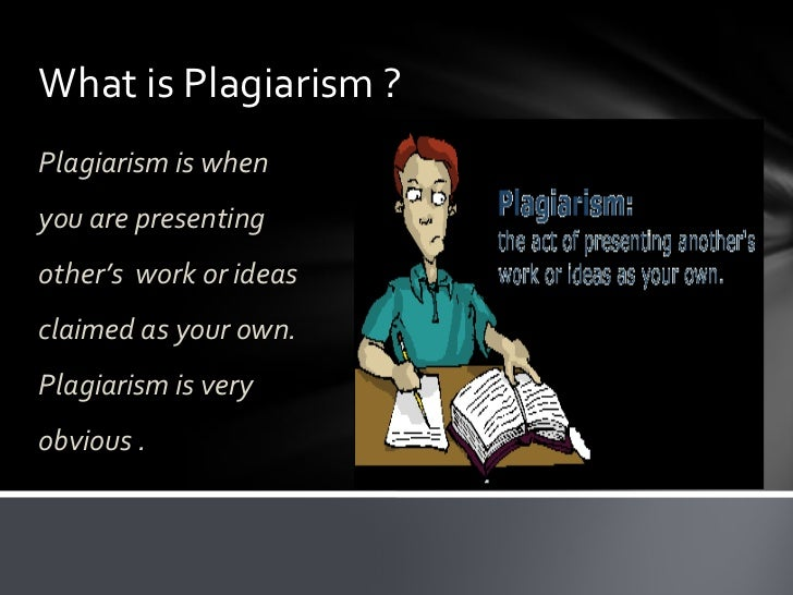 issues in plagiarism The examples below demonstrate a few varieties of plagiarism, from verbatim copying to thorough paraphrasing the comments that follow the examples offer guidance about how a source may be used and when a source must be cited.