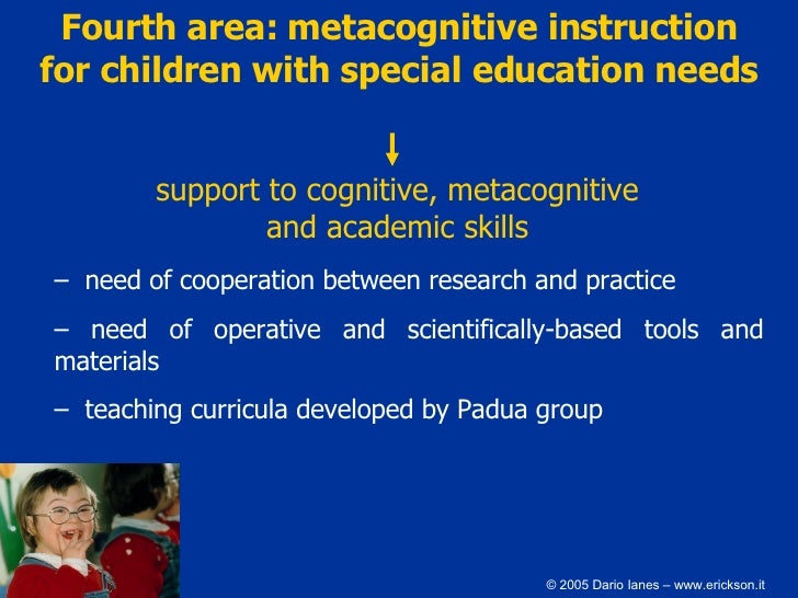 Cognitive theorists and supporting pupils with special needs