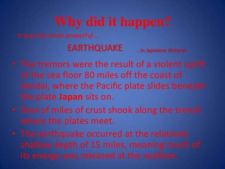 The Japan Tsunami