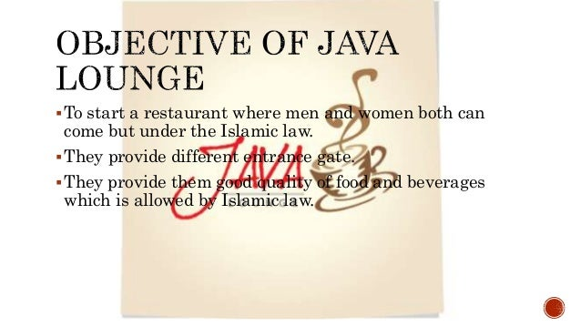 the java lounge saudi arabian The cultural environments facing business case:- the java lounge- adjusting to saudi arabian culture introduction some introduction about:- • learning.