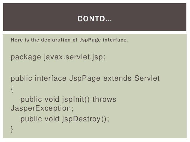 javax servlet singlethreadmodel api Whenever i want to create a simple servlet project, i have to manually add the servlet-apijar file to the classpath why is this necessary i can right-click on the src directory and the pop-up menu includes an option to create a new servlet however, when i do, i always get a package javax.