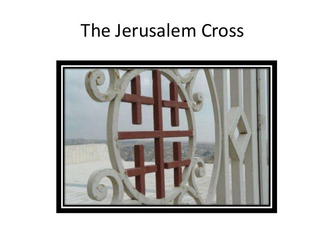 Jerusalem cross tattoos