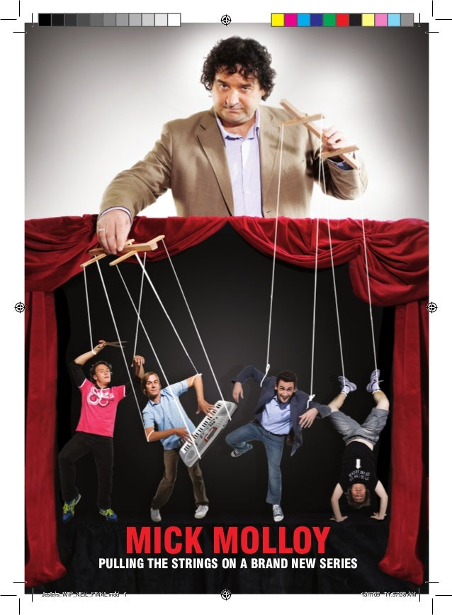MICK MOLLOY                   Pulling the strings on a brand new seriesJesters_WIP_NEIL_FINAL.indd 1                      ...