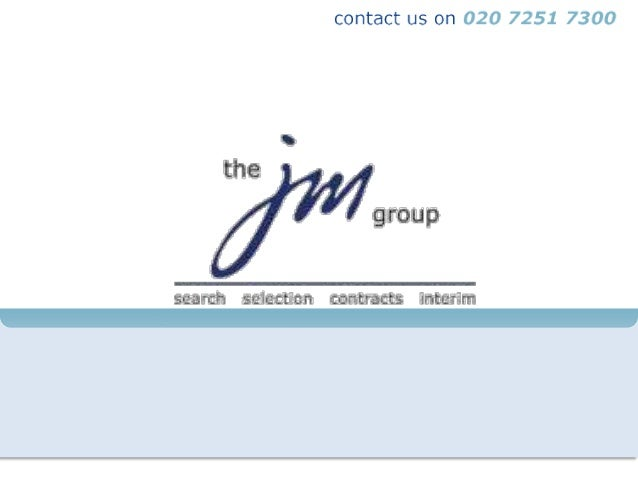 """Sectors Covered by JM Group""""The JM Group are very responsive and add real value to our job        briefings…They bring rea..."""