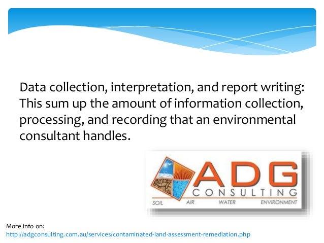 The Job Description of an Environmental Consultan