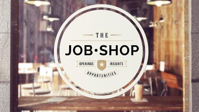 The Job Shop: TeamPeople