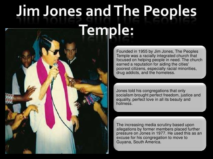jim jones and the jonestown massacre essay Continue for 5 more pages » • join now to read essay jim jones and the jonestown massacre and other term papers or research documents read full document save download as (for upgraded members.