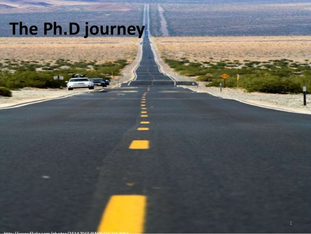 The Ph.D journey  1