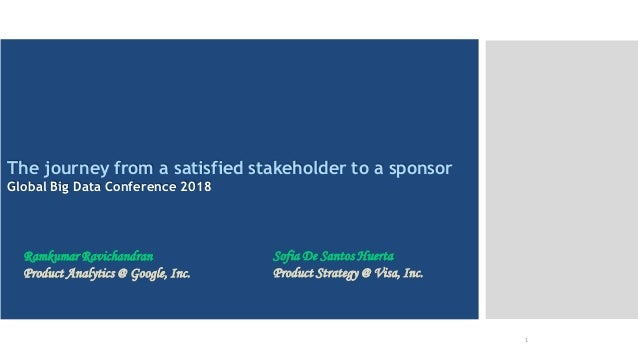 Intended for Knowledge Sharing only Quick recap of what it is 1 The journey from a satisfied stakeholder to a sponsor Glob...