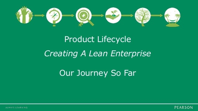 Product Lifecycle Creating A Lean Enterprise Our Journey So Far