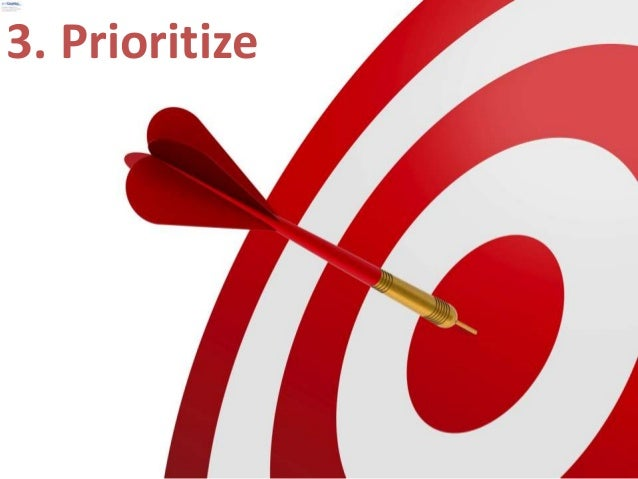Summary:  1. Take Responsibility  2. Know Your Outcome  3. Prioritize