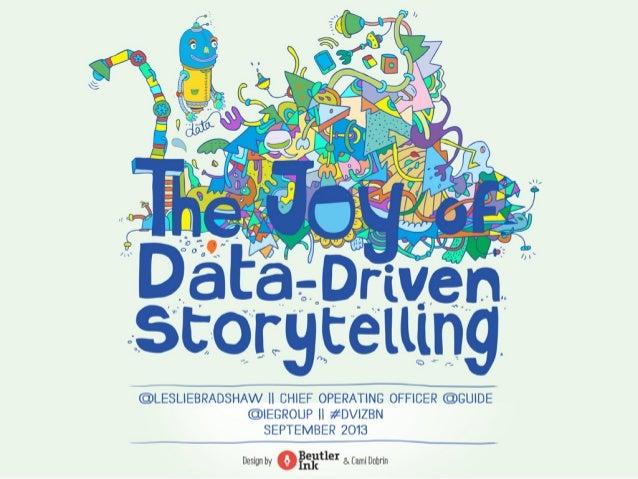 Joy of Data Driven Storytelling