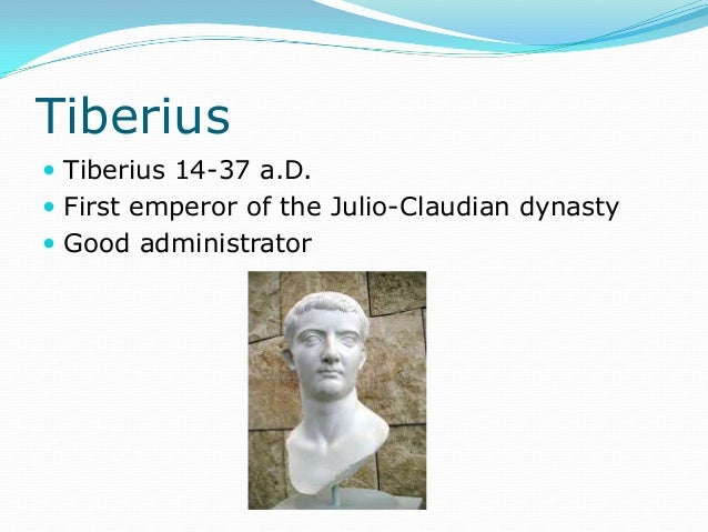 The Julio-Claudian Dynasty - YouTube