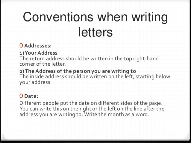 how to write address on letter letter writing 49596