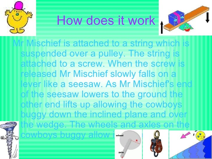 The jump made out of simple machines Slide 2