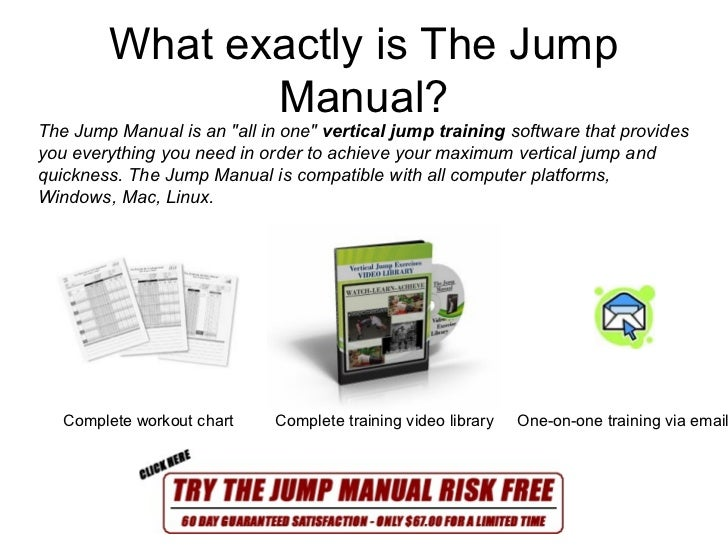 The Jump Manual - Vertical Jump Training - Actual User ...