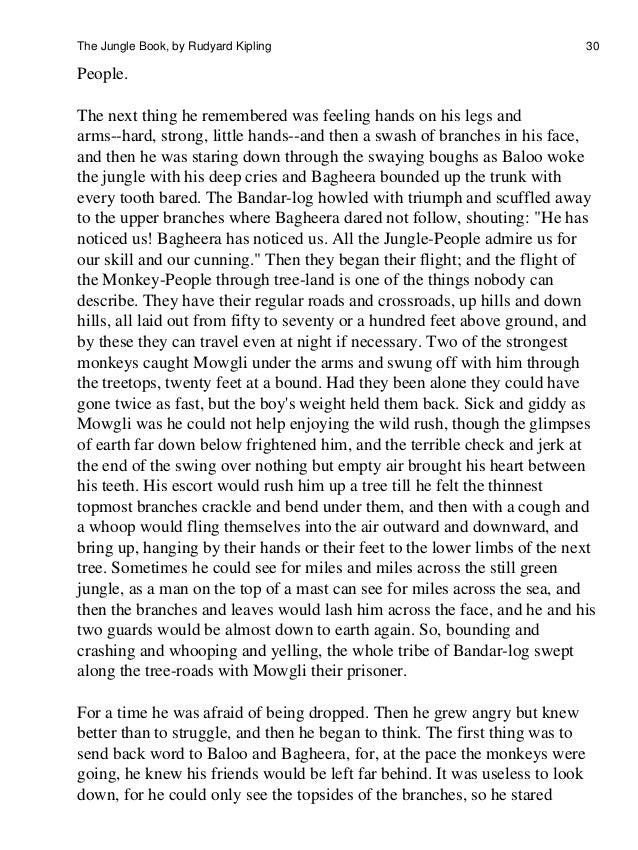 the jungle book the jungle book by rudyard kipling 29 30