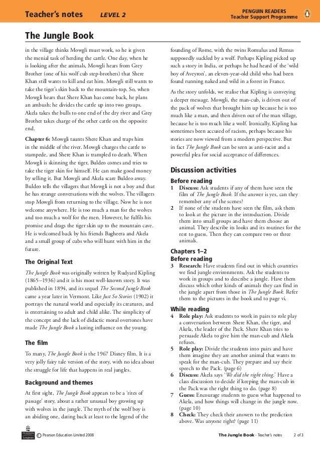 jungle book review essay