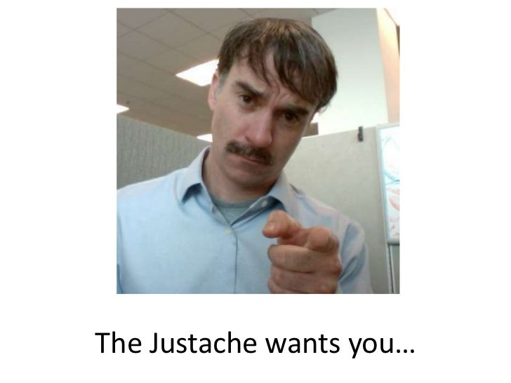 The Justache wants you…<br />