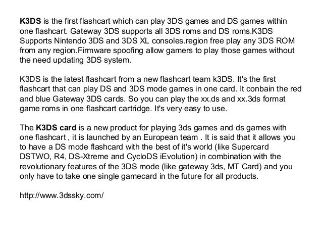 how to play 3ds roms without flashcard