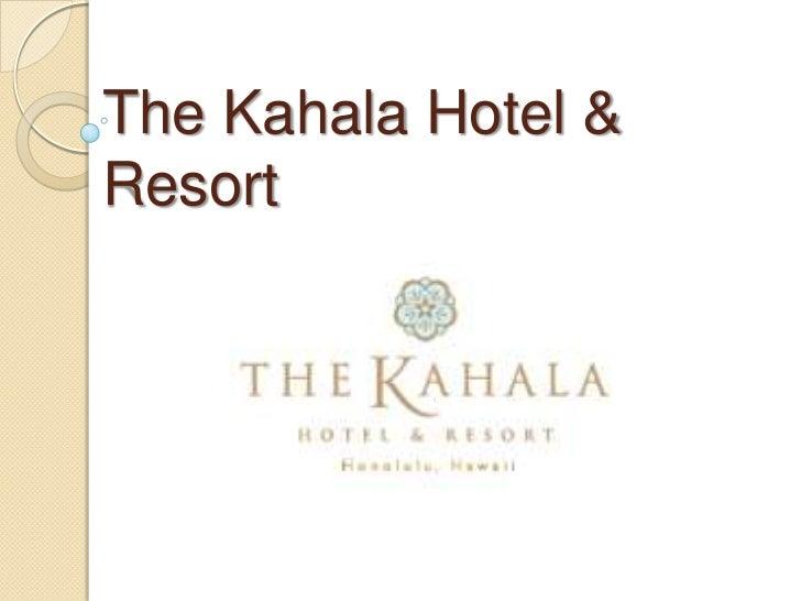 The Kahala Hotel & Resort<br />