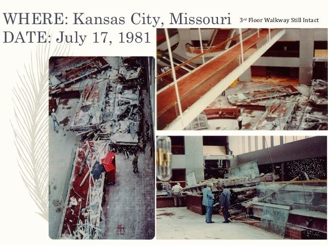 the tragedy at the hyatt regency Until the events of 9/11, the skywalk collapse at the former hyatt regency hotel in kansas city, mo, was the most devastating structural failure ever in the us in.
