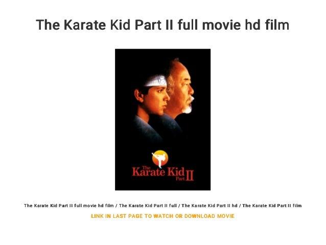 Karate Kid Ver Karate Kid 3 Online Castellano
