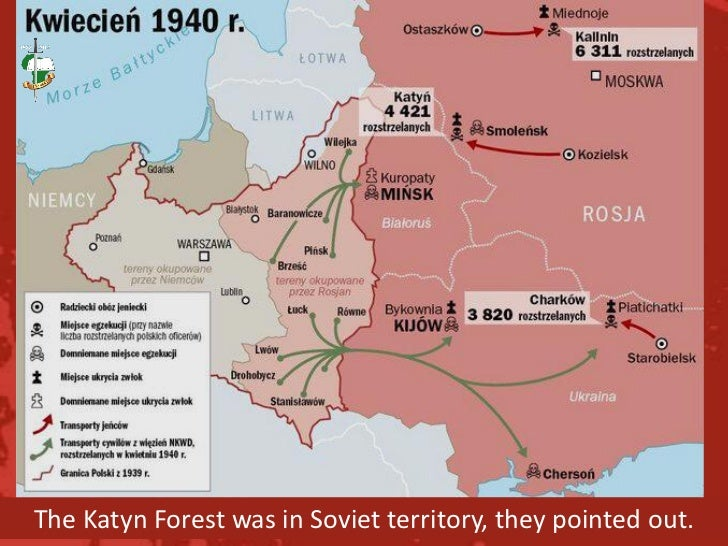 The Katyn Forest Macre on kokoda map, lidice map, romania map, khartoum map, midway map, europe map, aftermath map, yaroslavl map, big animal map, casablanca map, the kite runner map, war map, armenian genocide map, danzig map, unbroken map, berlin map, inventory map,