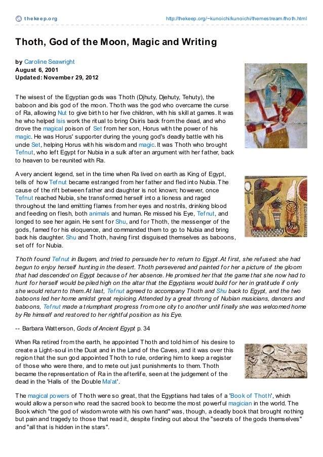 Osiris and Iris Creation Myth