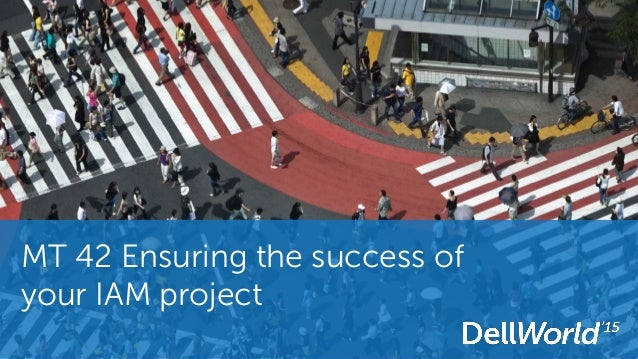 MT 42 Ensuring the success of your IAM project