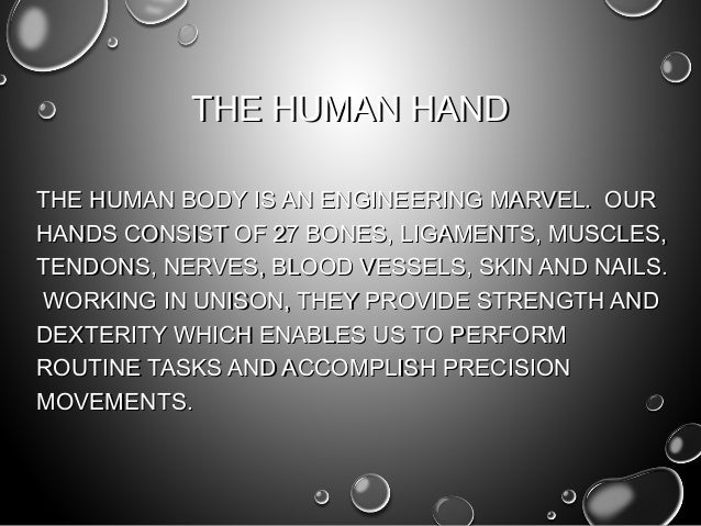 The key to hand injury prevention Slide 3