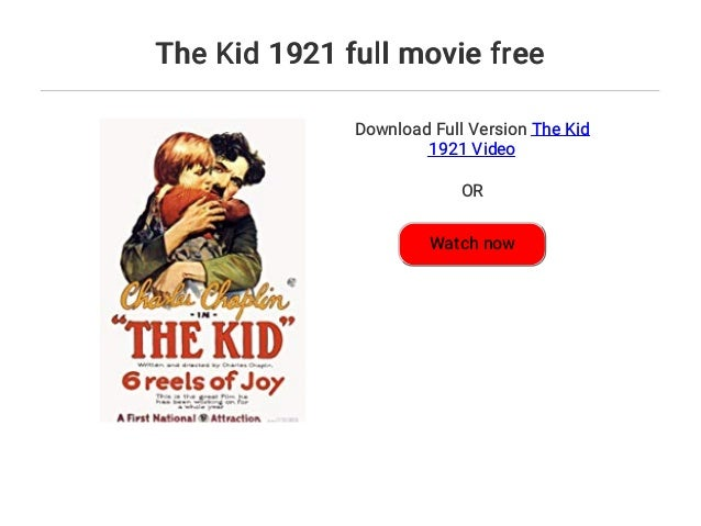 Download Film The Kid 1921