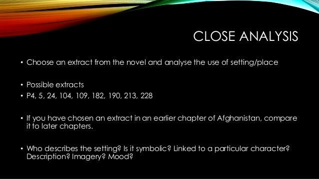 settings in the kite runner shifting borders identity 16 close analysis