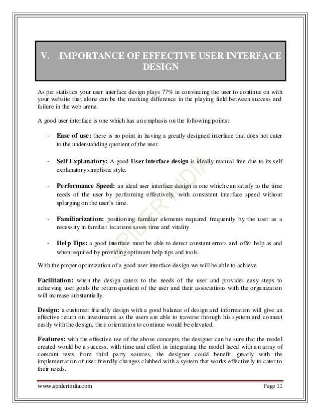 importance of user interface pdf