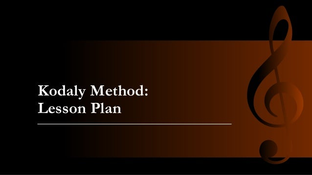 The kodaly method
