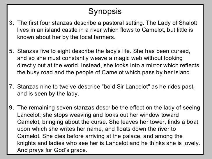 lady of shalott summary analysis