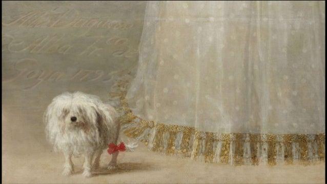 The lady with the dog in the painting La dame au chien dans la peinture