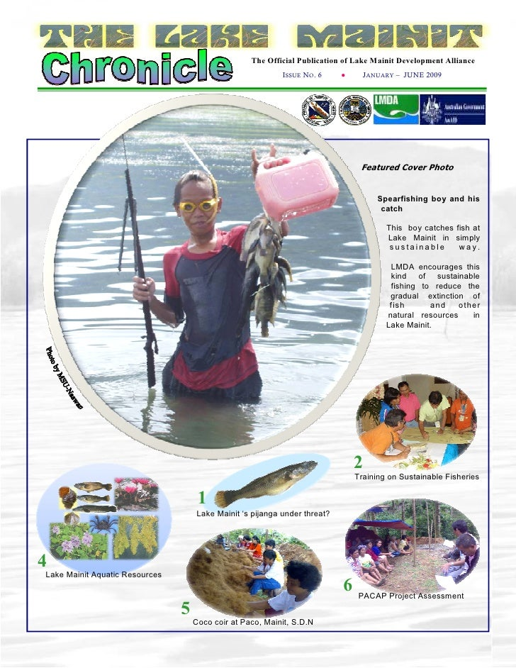 The Official Publication of Lake Mainit Development Alliance                                                             I...