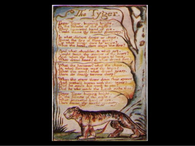 the tyger and the lamb Did he who made the lamb make thee tyger tyger burning bright, in the forests  of the night: what immortal hand or eye, dare frame thy fearful symmetry.