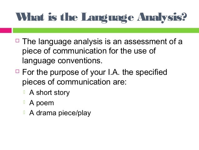 an analysis of the communication Communication event analysis papers a communication event analysis paper focuses on meaningful communication activity, describes it, and analyzes it using a relevant theory set of theories.