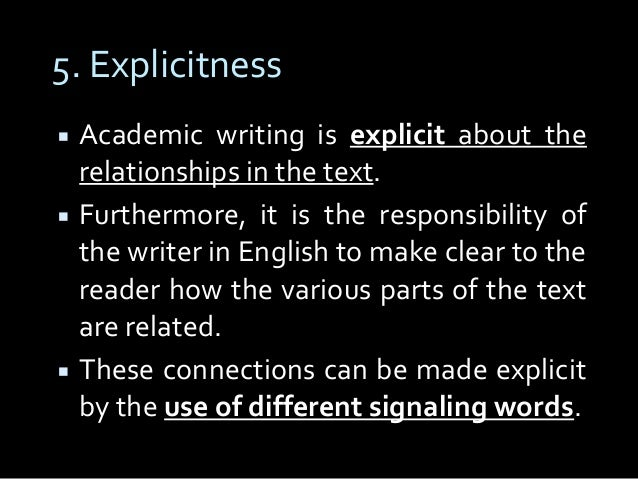 academic writing vocabulary As you develop your essay, you need to think carefully about your choice of words this is very important in academic essays for example, you would not use contractions (can't, wouldn't, isn't) or shorter forms of words (fridge, auto) because they signal informality and academic writing takes place in what is considered.
