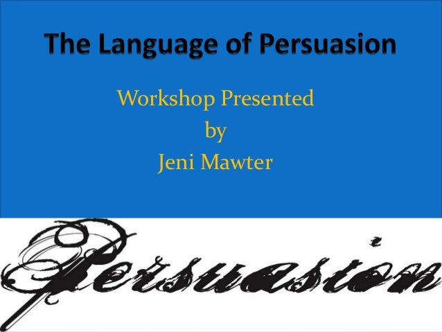 Workshop Presented        by   Jeni Mawter