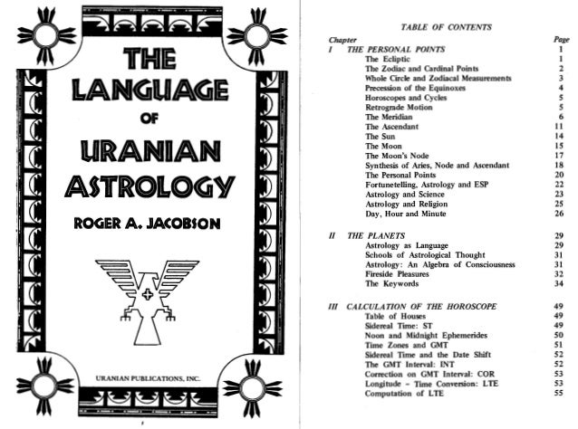 The language of uranian astrology jacobson,1975 searchable