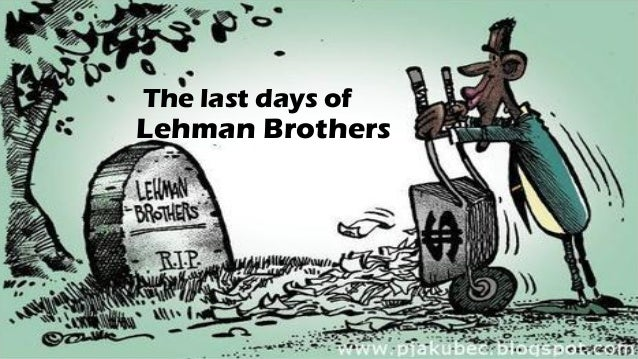 lessons from lehman brothers will we The collapse of lehman brothers one year ago this week has us asking ourselves what principles of financial intelligence we can learn from lehman's failure the financial crisis that engulfed wall street and the economy in general, after all, provides a good backdrop for some important lessons.