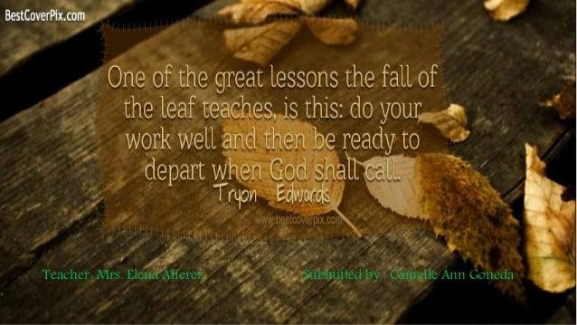 the last leaf 5 4