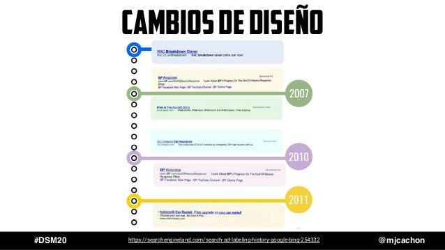 #DSM20 @mjcachon CambiosdediseÑo https://searchengineland.com/search-ad-labeling-history-google-bing-254332