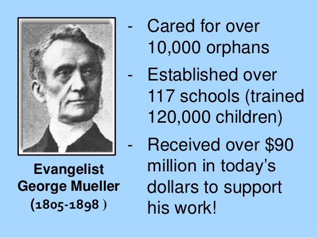 - Cared for over 10,000 orphans - Established over 117 schools (trained 120,000 children)  - Received over $90 million in ...