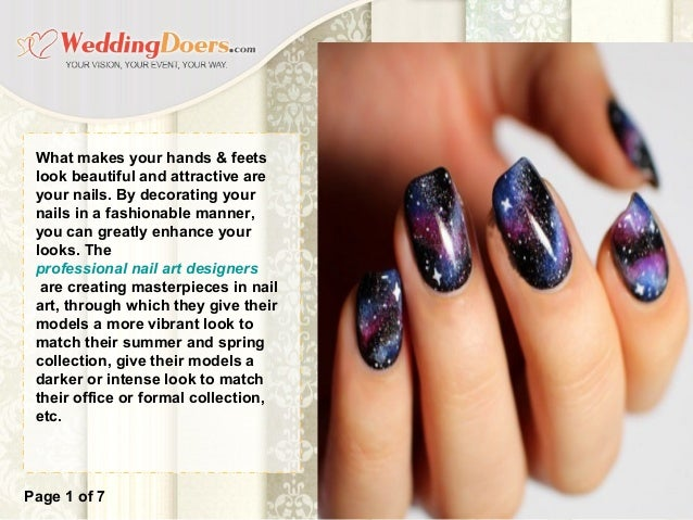 The Latest And Most Popular Nail Art Trends For 2017