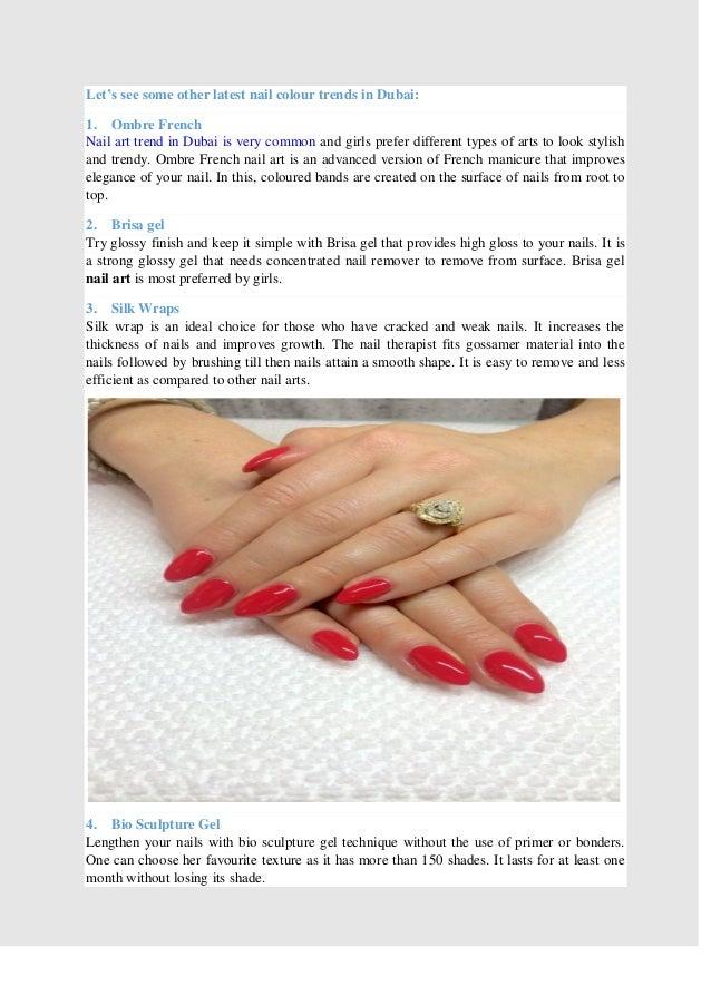 The Latest Nail art trend in Dubai
